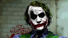 I'm not a monster - Joker