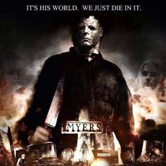 I don't like the Rob Zombie Halloween movies but I like the caption above!