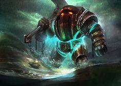 The Titan of the DepthsNautilus by Dante Liu
