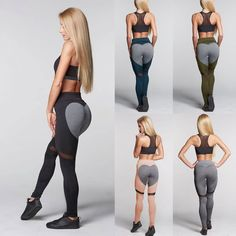 $7.89 - Gym Womens Yoga Pants Sports Leggings Athletic Clothes Fitness Running Fashion #ebay #Fashion