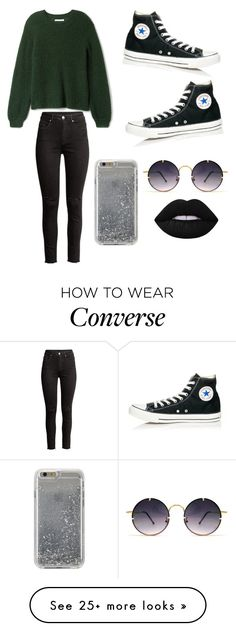 """""""Untitled #435"""" by kaylee10-i on Polyvore featuring Converse, Agent 18 and Spitfire"""