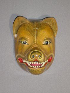 Kyogen mask Kitsune