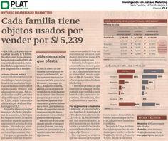 OLX: Investigación de Arellano Marketing en el diario Gestión de Perú (14/10/16)