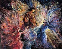 "Josephine Wall's ""Fairies"""
