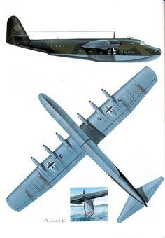 The Blohm & Voss BV 222 Wiking (Viking) was a large, six-engined German flying boat of World War II, and the largest flying boat to achieve operational status during the war.
