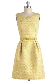 Quatre-floral Design Dress