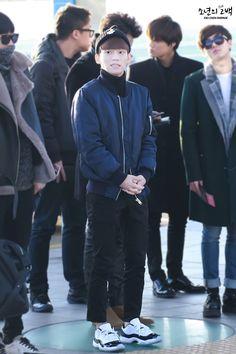 141202- EXO Chen (Kim Jongdae); Incheon Airport to Hongkong Airport #exom #fashion