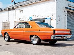 My first car was just like this. 1969 Dodge Dart. Mine was a GT model and was blue with a black top and had a stock Hurst 4 speed. Originally a 340 small block.