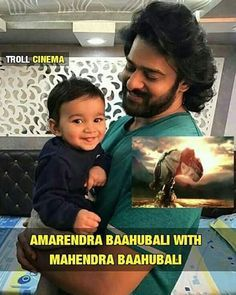 Amrendra Bahubali with Mahendra Bahubali ❤. Double tap for both the bahubali's ��❤��. @prabhas_raju_official Follow @maaki_kirkiri for more updates .  #india #telangana #andhra #allover  #tollywood #bolllywood #Hollywood #style #attitude #passion #celebrity #hero #heroine #cricketers #star  #love #affection #everthinghere #support #thankyouforlove #lovefollowers . http://tipsrazzi.com/ipost/1508609288058173661/?code=BTvqCePj_jd