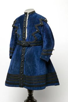 Boy's dress, 1868, England.