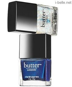 New: Butter LONDON Ice Lacquer and Overcoat Duo