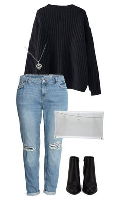 """#270"" by mintgreenb on Polyvore featuring H&M, Alexander Wang and Dogeared"