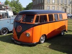 VW Bus in Giants Colors!