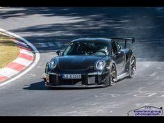 2018 Porsche 911 GT2 spy shots and video
