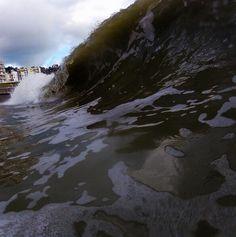 Shorebreak.