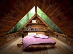 100 Incredible Loft Bedroom Interior Ideas