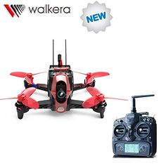 F19843 Walkera Rodeo 110 110mm with DEVO 7 Remote Controller RC Racing Drone Quadcopter RTF With 600TVL Camera Battery Charger #Affiliate