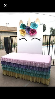 Party pictures backdrop unicorn new Ideas Unicorn Birthday Parties, Birthday Party Decorations, 2nd Birthday, First Birthday Parties, Birthday Ideas, Unicorn Baby Shower, Bday Girl, Party Time, Party Ideas