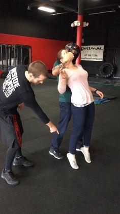 Self Defense: Self defense grabbed from behind. #selfdefense #defender #fighter