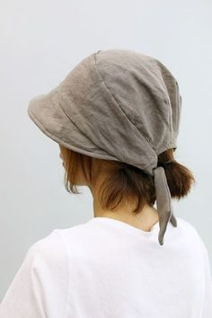 Charity Sewing Idea – How To Generate A Garment Address – By Zazok Head Wraps For Women, Sun Hats For Women, Hat Patterns To Sew, Sewing Patterns, Hat Making, Sewing Clothes, Caps Hats, Winter Hats, Gray Hair