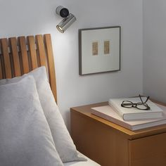 Discover our lamps range, indoor and outdoor lighting. Modern design lamps and innovative. Wall Spotlights, Led Wall Lights, Floating Nightstand, Wall Sconces, Lighting Design, Wall Mount, It Is Finished, Living Room, Inspiration