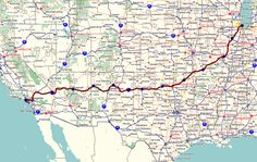 route 66 | route 66 the mother road the will rogers highway is one of otr s ...