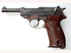 This is a picture of a gun. In the novel The Stranger, Mersault kills a Arabic man.This picture represents the weapon that was used to kill the Arabic man.