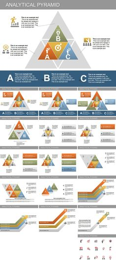 Analytical Pyramid PowerPoint diagrams