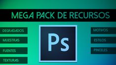 Pack de recursos Photoshop 830x466 Mega Pack de recursos para Adobe Photoshop Gratuito