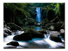 Waterfalls - 1 panel