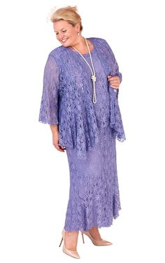 Ann Balon Mother of the Bride Plus Size Dresses & Special Occasion Outfits Plus Size Dresses, Plus Size Outfits, Mother Of The Bride Plus Size, Wedding Outfits For Women, Special Occasion Outfits, Romantic Outfit, Lace Outfit, Plus Size Jeans, Stunning Dresses