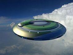 futuristic Cars, futuristic design, Flying Saucer-Cars
