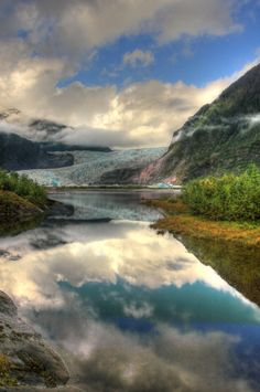 Mendenhall Glacier, Alaska- One of the most beutiful things Ive seen