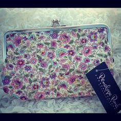 Waddesdon Medium Pink Flower Purse  https://www.facebook.com/pages/Elinors-Cupboard/222897244404367?ref=hl