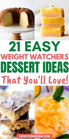 Weight Watcher Banana Bread, Weight Watchers Pumpkin, Weight Watchers Brownies, Weight Watchers Desserts, Diet Desserts, Easy No Bake Desserts, Ww Recipes, Sweets Recipes, Spice Cake Mix And Pumpkin