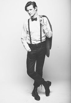 Matt Smith as the eleventh doctor, doctor who!