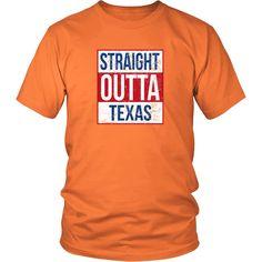 Straight Outta Texas Shirt