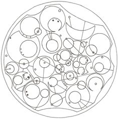 """""""I may be on the side of the angels, but don't think for one second that I am one of them."""" in Circular Gallifreyan (#Sherlock #DoctorWho)"""