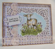Stamps: Our Daily Bread Designs Sheep, The Cross