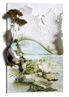 Gregory Euclide | Relief 2012  Concerning what fiction dissolves in your top branches