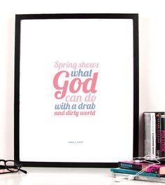Cherry & Cherry PRINTS - Spring & God Cod produs: L-005 Disponibil în... Cherry Cherry, Cod, Truths, Posters, Graphic Design, Spring, Simple, Cod Fish, Poster