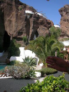 La cueva Lagomar (Lanzarote) Casa de Omar Shariff. Lagomar, Lanzarote Canary Islands. Spain - a space to indulge