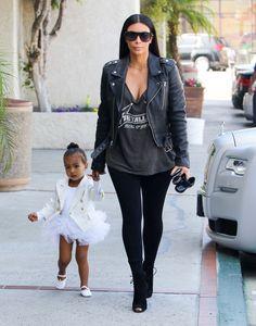 Kim Kardashian West Has a Rocker Moment
