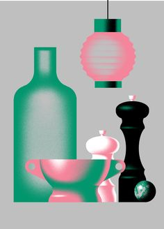 Three still life posters on Behance Food Graphic Design, Graphic Design Posters, Flat Illustration, Graphic Design Illustration, Digital Illustration, Name Drawings, Behance, Aesthetic Drawing, Grafik Design