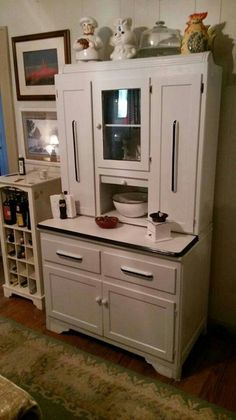 Refinished 1930s Hoosier Cabinet
