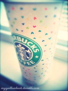 i ♥ HEART Starbucks all February!  http://www.1YearOfMyLife.wordpress.com  #Starbucks #LoveStarbucks @Starbucks