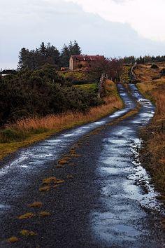 Back Road In Ireland