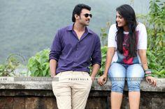 Mirchi Telugu Movie Wallpapers and Stills - Prabhas and Anushka in