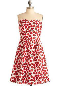 Ladybug in red dress. Modcloth.