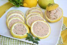 Limoni ripieni di tonno